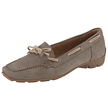 Buy Gabor Obern Nubuck Tie Up Loafers Online at johnlewis.com