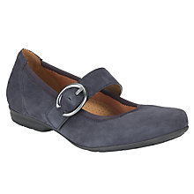 Buy Gabor Misra Nubuck Pumps, Blue Online at johnlewis.com