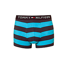 Buy Tommy Hilfiger Damian Stripe Trunks, Blue Online at johnlewis.com