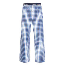 Buy Tommy Hilfiger Niek Check Lounge Pants, Blue Online at johnlewis.com