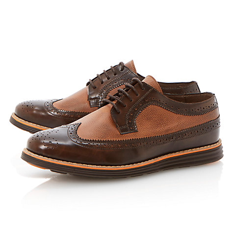 Buy Bertie Bayswater 2-Tone Leather Brogues Shoes Online at johnlewis.com