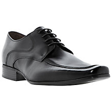 Buy Bertie Algarve Apron Derby Shoes, Black Online at johnlewis.com