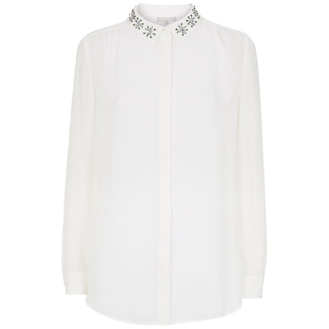 Buy Fenn Wright Manson Joan Top, Chalk Online at johnlewis.com