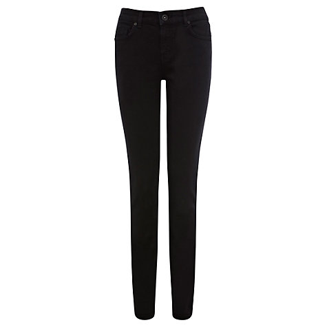 Buy Oasis Cherry Skinny Jeans, Black Online at johnlewis.com