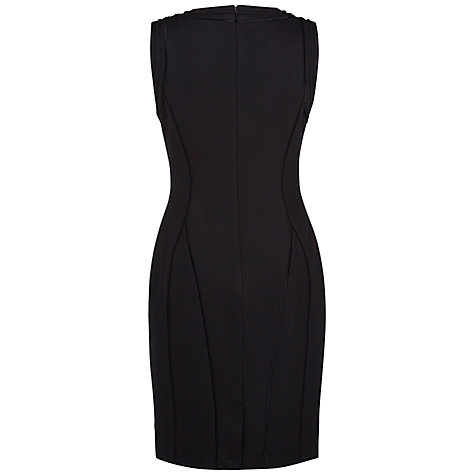 Buy Fenn Wright Manson Jacqueline Ponte Dress, Black Online at johnlewis.com