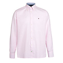Buy Tommy Hilfiger College Oxford Shirt, Blossom Pink Online at johnlewis.com