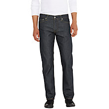 Buy Levi's 504 Regular Straight Jeans, Hi Def Online at johnlewis.com