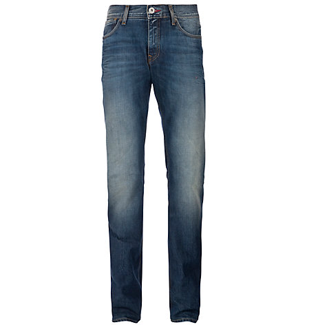 Buy Tommy Hilfiger Hudson Jeans, Captain Blue Online at johnlewis.com