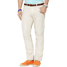 Buy Polo Ralph Lauren Varick Cotton Trousers Online at johnlewis.com