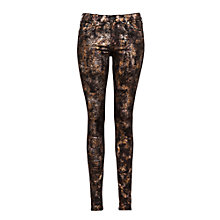 Buy Lee Scarlett Skinny Jean, Foil Copper Online at johnlewis.com