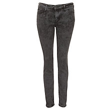 Buy Lee Scarlett Skinny Jeans, Shock Grey Online at johnlewis.com