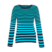 Buy Lauren by Ralph Lauren Stripe Top Online at johnlewis.com