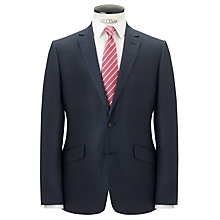 Buy John Lewis Tailored Linen Suit Jacket, Navy Online at johnlewis.com