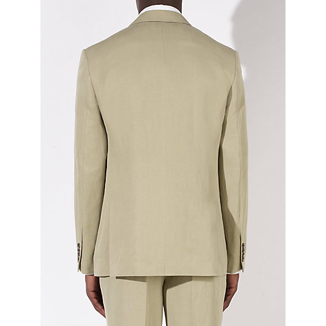 Buy John Lewis Tailored Silk Linen Blend Suit Jacket, Stone Online at johnlewis.com