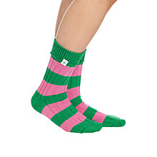 Buy Rampant Sporting Sunday Stripes Socks Online at johnlewis.com