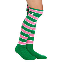 Buy Rampant Sporting Women's Rugby Stripe Knee High Socks Online at johnlewis.com
