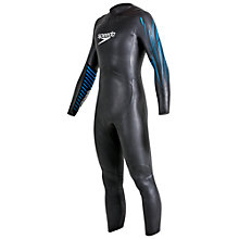 Buy Speedo Tri Event Full Wetsuit, Black Online at johnlewis.com