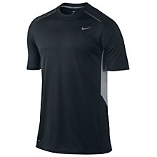Buy Nike Legacy Crew Neck T-Shirt, Black Online at johnlewis.com