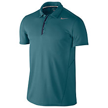 Buy Nike Tennis Waffle Short Sleeve Polo Shirt, Green Online at johnlewis.com