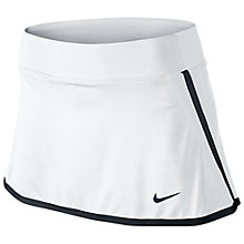 Buy Nike Victory Power Tennis Skirt, White/Navy Online at johnlewis.com