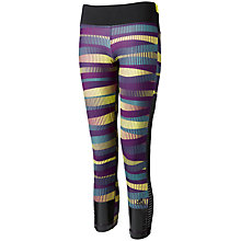 Buy Adidas All Over Print Pattern Tights, Multi Online at johnlewis.com