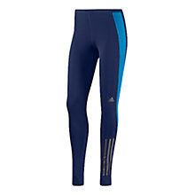 Buy Adidas Supernova Long Running Tights, Navy/Blue Online at johnlewis.com