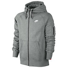 Buy Nike 77 Fleece Full Zip Training Hoodie Online at johnlewis.com