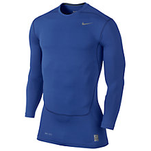 Buy Nike Core Compression Long Sleeve Top 2.0, Dark Blue Online at johnlewis.com