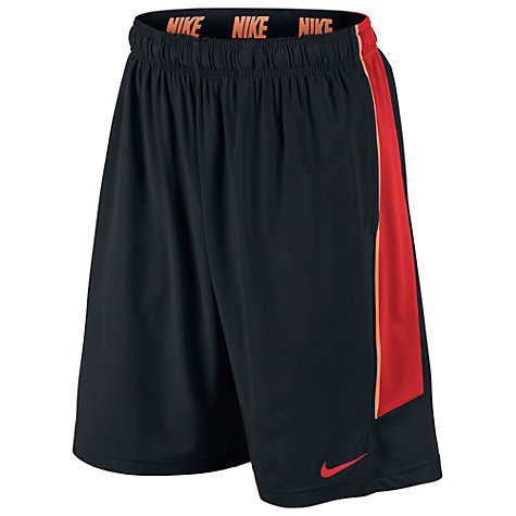 Buy Nike Hyperspeed Fly Woven Shorts, Black Online at johnlewis.com