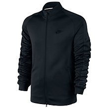 Buy Nike N98 Zip Up Track Jacket, Black Online at johnlewis.com