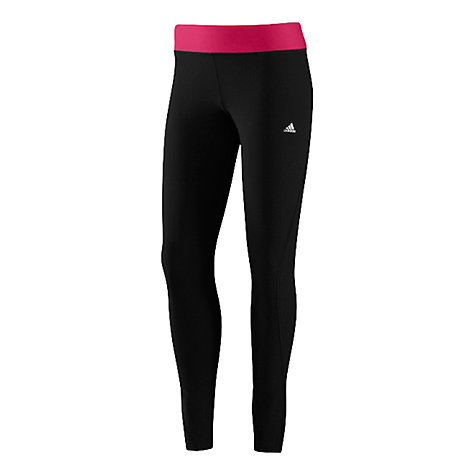 Buy Adidas Ultimate Training Tights, Black/Pink Online at johnlewis.com
