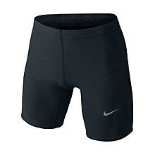 Buy Nike Tech-Fit Shorts, Black Online at johnlewis.com