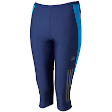 Buy Adidas Supernova 3/4 Length Running Tights, Navy Online at johnlewis.com