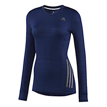 Buy Adidas Women's Supernova Long Sleeve T-Shirt, Blue Online at johnlewis.com