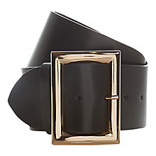 Buy Hobbs Tali Belt, Black Online at johnlewis.com