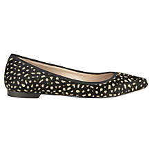 Buy Jigsaw Bayswater Calf Hair Pumps Online at johnlewis.com