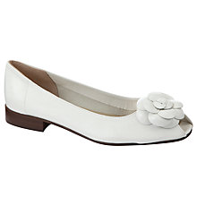 Buy John Lewis Dolly Leather Ballerinas Online at johnlewis.com