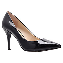Buy Nine West Flax Patent Court Shoes, Black Online at johnlewis.com