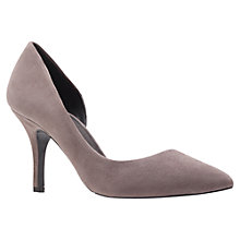 Buy KG by Kurt Geiger Bastien Court Shoes, Grey Online at johnlewis.com
