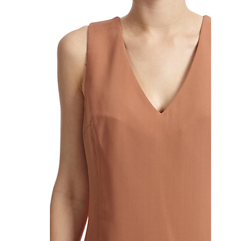Buy Oasis Victoria Shell Top, Camel Online at johnlewis.com