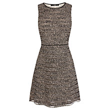 Buy Oasis Animal Stripe Skater Dress, Multi Online at johnlewis.com