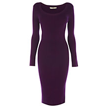Buy Oasis Tube Dress, Dark Purple Online at johnlewis.com