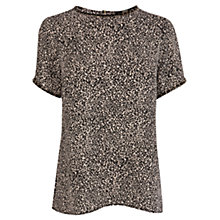 Buy Oasis Animal Embellished Neck T-shirt, Multi Online at johnlewis.com