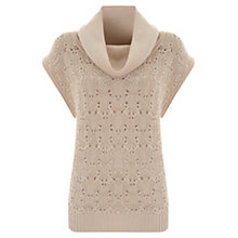 Buy Mint Velvet Lace Tabard Jumper, Neutral Online at johnlewis.com
