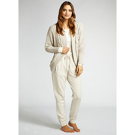 Buy Hygge by Mint Velvet Zip Pocket Sweatpants, Neutral Online at johnlewis.com