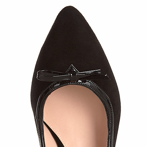 Buy Jigsaw Paddington Suede Patent Trim Court Shoes Online at johnlewis.com