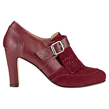 Buy Jigsaw Cambridge Leather Mix Fringed Shoe Boots Online at johnlewis.com