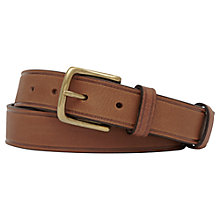 Buy Reiss Cucuzza Leather Belt, Tan Online at johnlewis.com