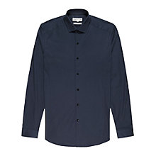 Buy Reiss Jason Slim-Fit Shirt, Navy Online at johnlewis.com