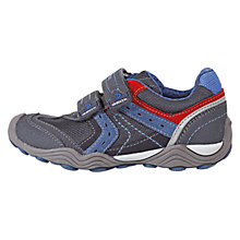 Buy Geox Arno Trainers, Grey/Blue Online at johnlewis.com